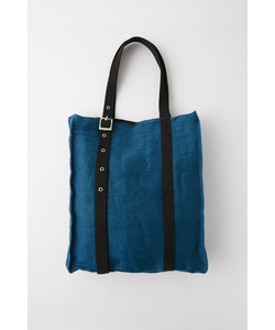 EYELET SQUARE TOTE バッグ