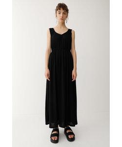 FRONT GATHER LONG ドレス