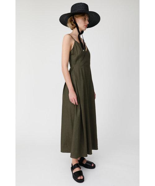 FRONT WRAP CAMI ドレス