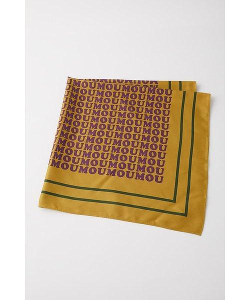MOUSSY LOGO スカーフ