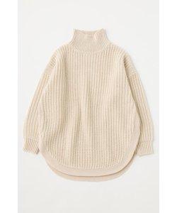 ROUND HEM セーター