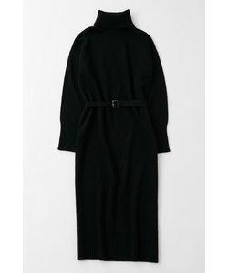 HIGH NECK ニット ドレス