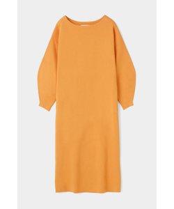 BOATNECK KNIT ドレス