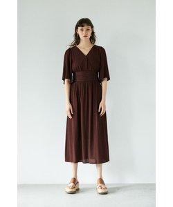CREPE LONG ドレス