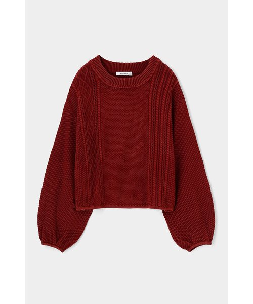 CABLE KNIT トップス