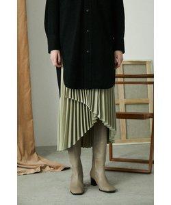 ASYMMETRY PLEATS スカート