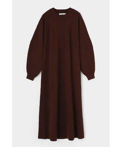 COCOON SLEEVE C/N KNIT ドレス