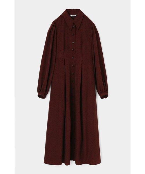 TINY DOT LONG SHIRT ドレス