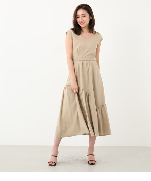 Back Flare Open Maxi OP