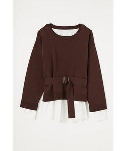 Shirt Combi Knit TOP-R