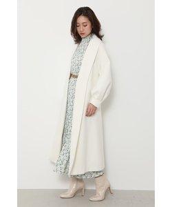 Shawl collar gown CT