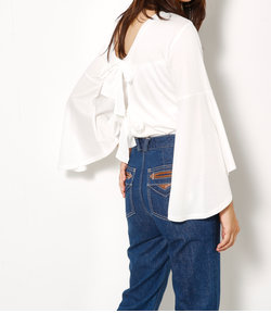 BELL SLEEVE CUT TOPS