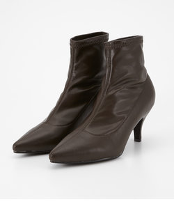 SHAPED SHORT BOOTS