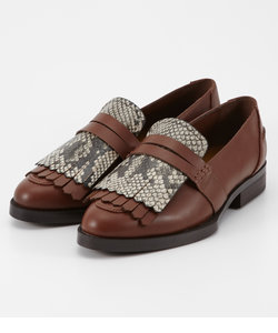 FAUX PYTHON LOAFER