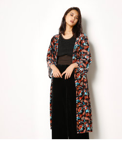 PAISLEY FLOWER ベロア GOWN