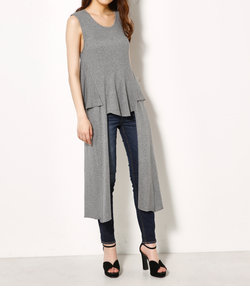 SIDE LONG LAYER TOPS