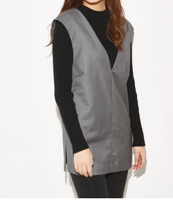 MANNISH V NECK GILET