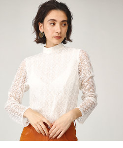 CIRCLE LACE STAND TOPS