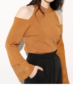 OPEN SHOULDER FLAPE SLEEVETOPS