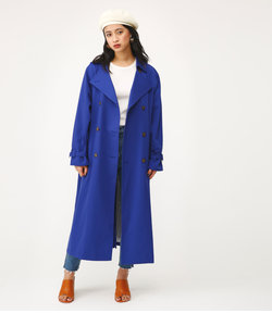 OVER TRENCH LONG COAT