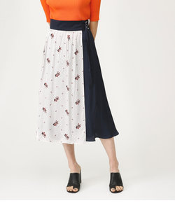 MARY DOTS DOUBLE BELTED M/SK
