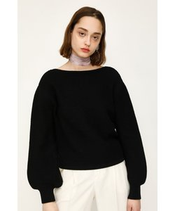 2WAY VOLUME SLEEVE KNIT トップス