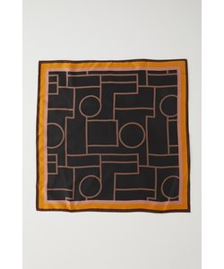 HELENA LINE SILK スカーフ