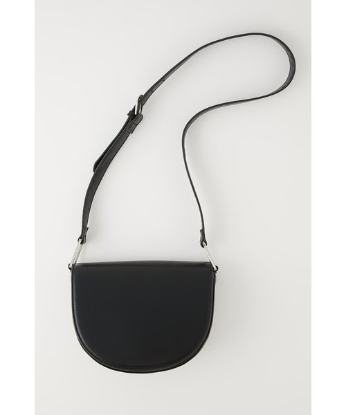 OVAL MOON SHOULDER BAG