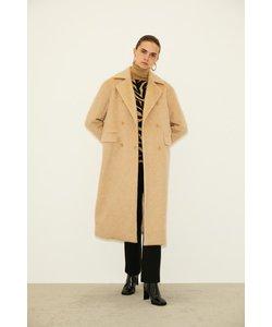 【THROW】OVER SHAGGY コート