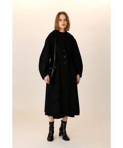 A LINE SHAGGY WOOL コート