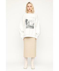 SIDE SLIT ミディアムスカート