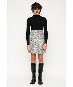 JACQUARD ショートスカート