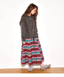 ウォッシュ オルテガ パターン スカート