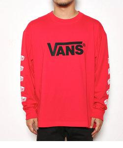 メンズ VANS SK8PT L/S Tシャツ