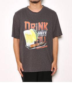 メンズ Drink one's fill Tシャツ
