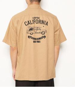 タイプライターワーク 半袖シャツ