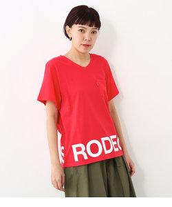 RCS ロゴ Vネック Tシャツ