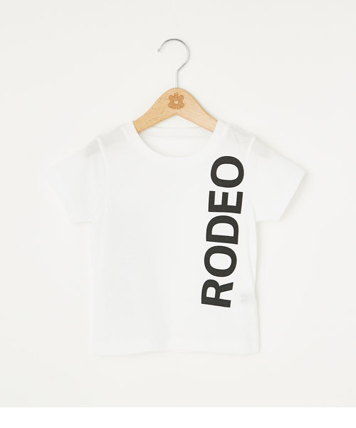 キッズ サイドロゴ Tシャツ
