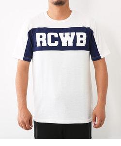 RCWB スイッチング ハニカム Tシャツ