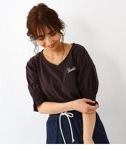 袖バルーン ポケット トップス