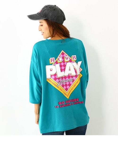 プレイグラウンド ビッグ 7分丈 Tシャツ