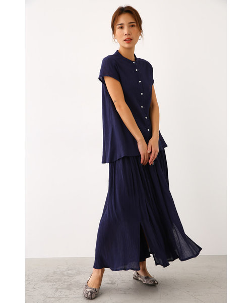 楊柳 ロング スカート