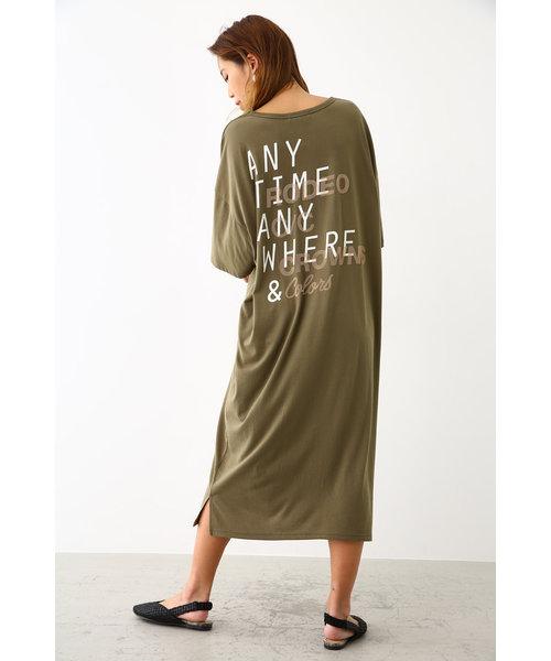 ANY Tシャツ ワンピース