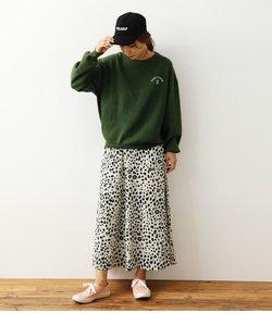 animal patternスカート