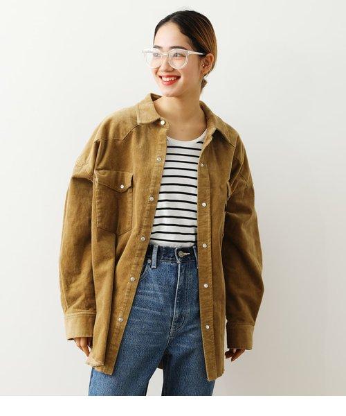 コーデュロイウエスタンシャツジャケット
