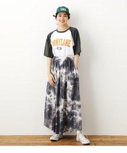 タイダイロゴスカート