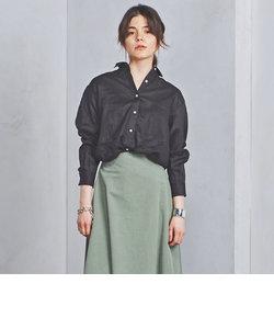 ○UBCB リネン レギュラーカラーシャツ 18SS