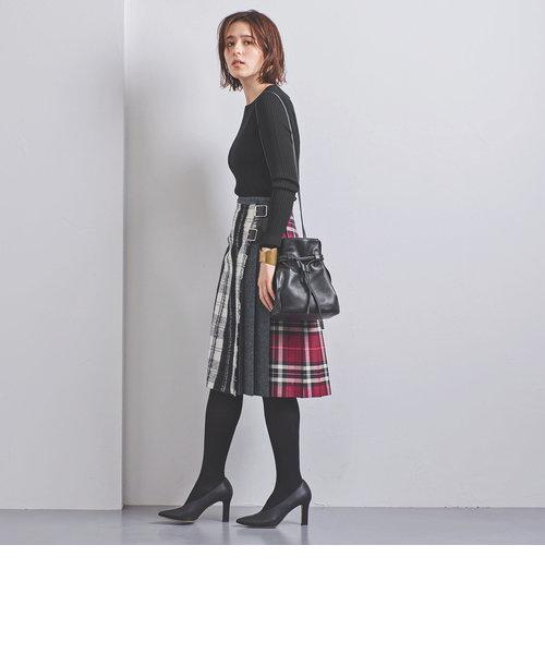 <O'NEIL of DUBLIN>パッチワーク スカート