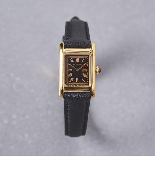 UBBT スクエア レザーベルト 腕時計2†