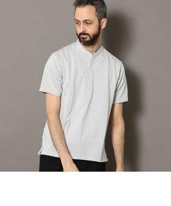 【Begin別注企画】 BY  COOLMAX カルゼ バンドカラー ポロシャツ